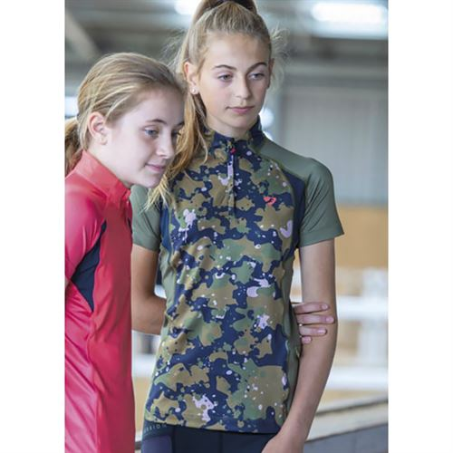 Shires Kids' Aubrion Newbury Short Sleeve Base Layer