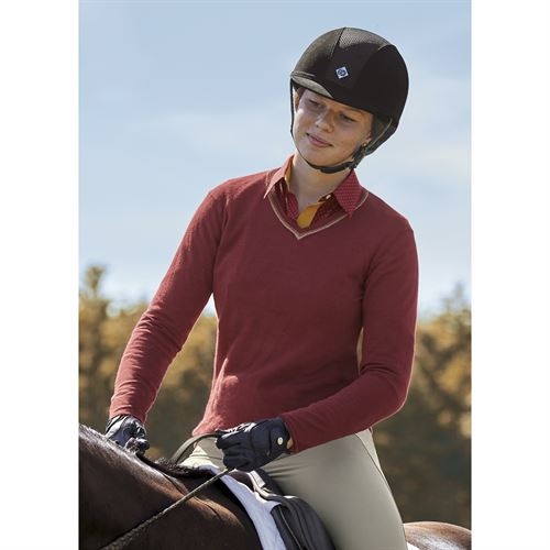 Dover Saddlery® Ladies' Gold-Tipped Sweater
