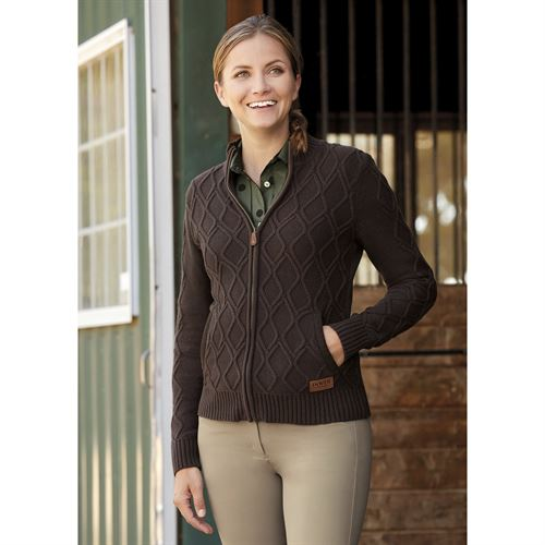 Dover Saddlery® Ladies' Perfect Riding Full-Zip Cardigan