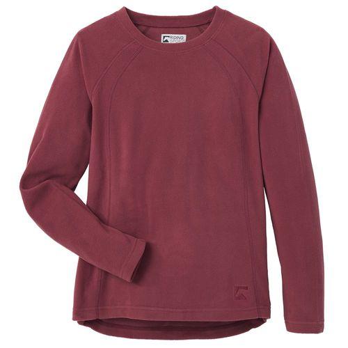 Riding Sport® by Dover Saddlery® Ladies' Fleece Crew Long Sleeve Shirt