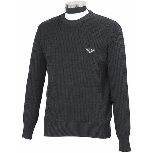 TuffRider® Men's Classic Cable Knit Sweater