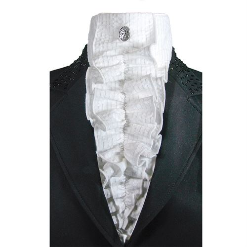 Equi Logic Silver Thread Tux Stock Tie