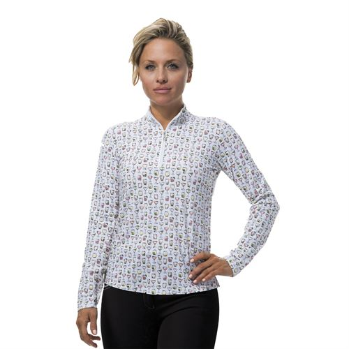 SanSoleil™ Ladies´ Soltek ICE® On The Rocks Shirt