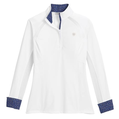 Ariat® Ladies' Sunstopper Pro Quarter-Zip Show Shirt 2.0