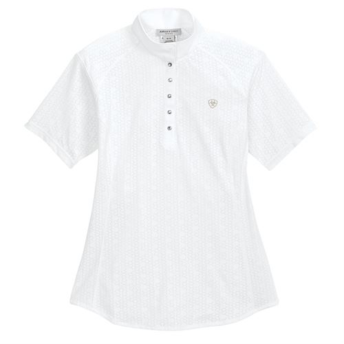 Ariat® Ladies' Showstopper Short Sleeve Show Shirt 2.0