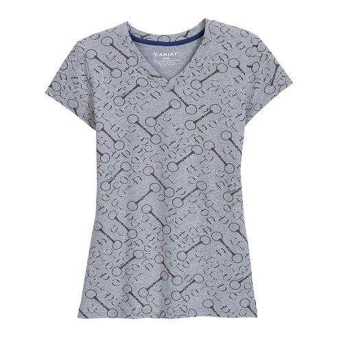 Ariat® Ladies' Snaffle Short Sleeve Tee
