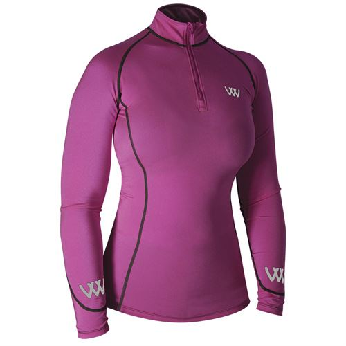 Woof Wear Ladies' Performance Color Fusion Riding Shirt