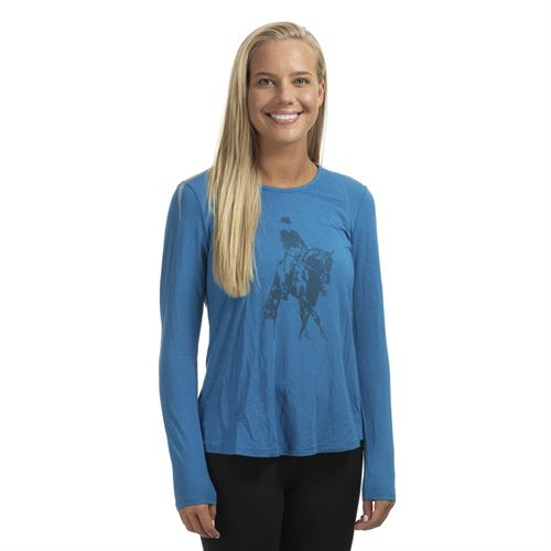 Chestnut Bay™ Spirit Discipline Long Sleeve Dressage Tee