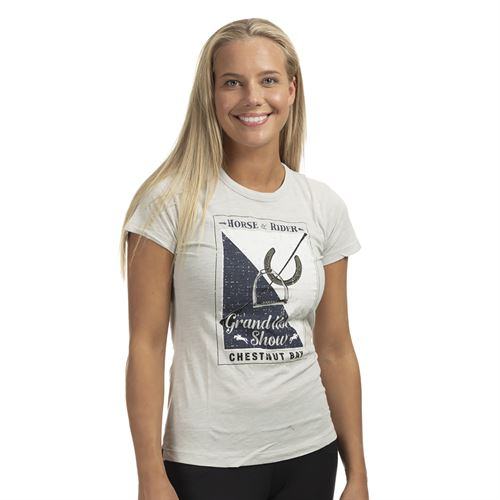 Chestnut Bay™ Vintage Short Sleeve Tee Grand Horse Show