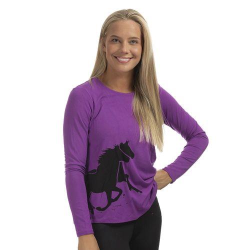 Chestnut Bay™ Ladies' Rider Fashion Free Run Long Sleeve Tee