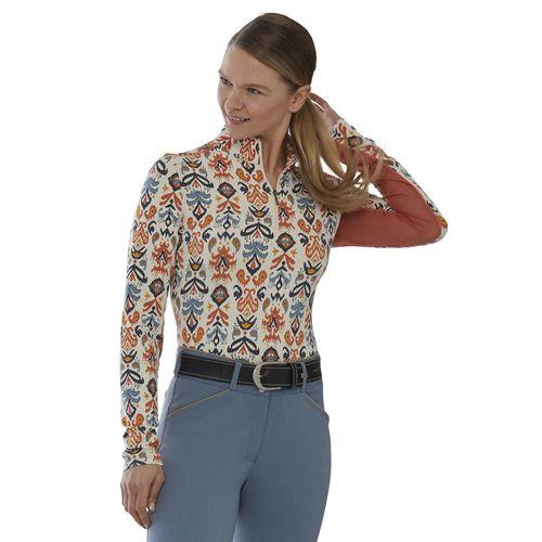 Dover Saddlery® Ladies' CoolBlast® 100 Print Long Sleeve Shirt