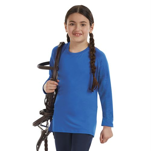 Stride® by Dover Saddlery® Girls' Long Sleeve Tech Top