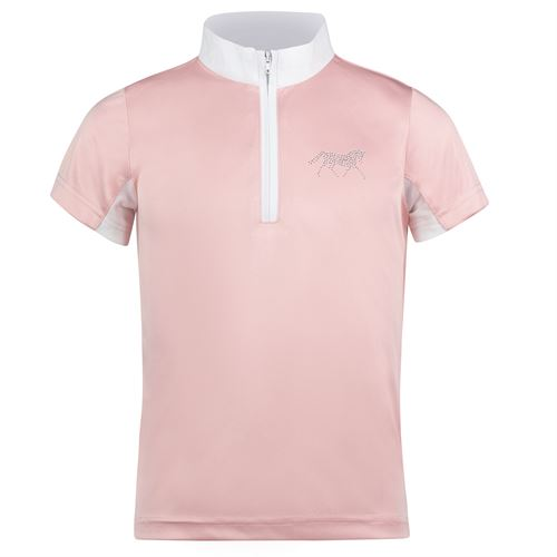 Horze Kids' Lena Technical Training and Competition Shirt