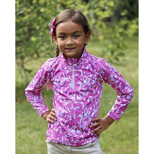 Belle & Bow Equestrian Children's Long Sleeve Sun Shirt
