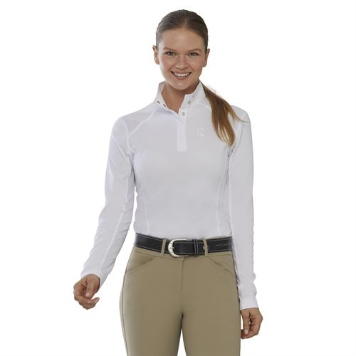 Riding Sport™ by Dover Saddlery® Ladies' Long Sleeve Show Shirt