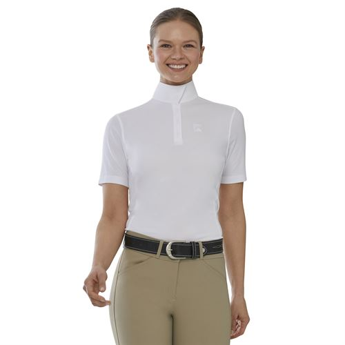 Riding Sport™by Dover Saddlery® Ladies'Short Sleeve Show Shirt