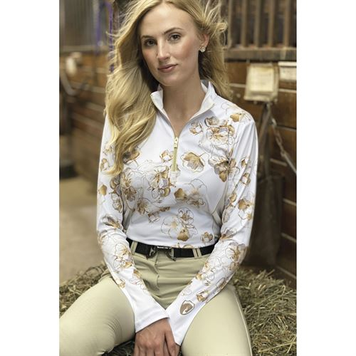 Arista® Ladies' Cherry Blossoms Long Sleeve Shirt