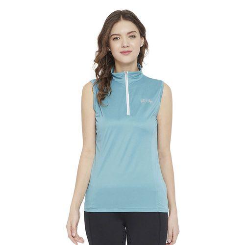 Equine Couture™ Ladies' Surya EquiCool Sleeveless Sun Sport Shirt