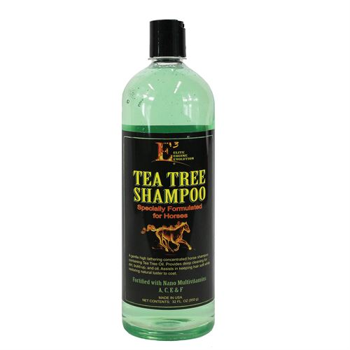 E3® Elite Equine Evolution Tea Tree Shampoo - Quart
