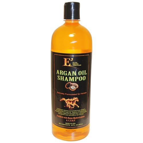 E3® Elite Equine Evolution Argan Oil Shampoo - Quart