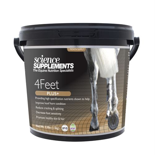 Science Supplements® 4Feet Plus+ Horse Hoof Support