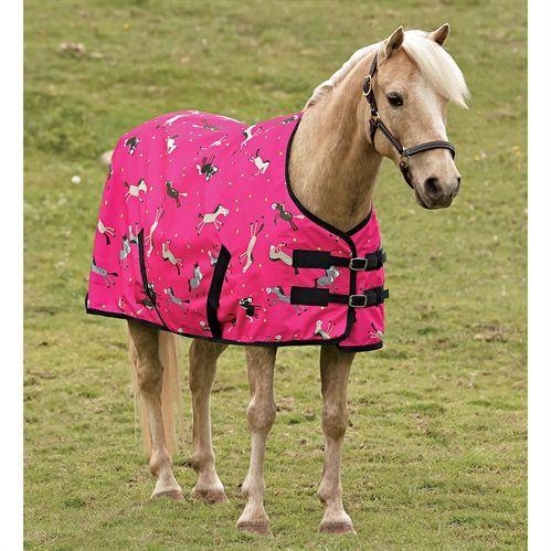 cartoon pony turnout blanket dover saddlery