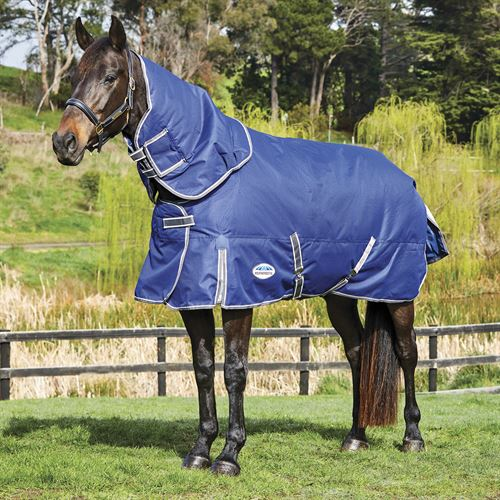 WeatherBeeta® ComFiTec™ Free Detach-A-Neck Medium Weight Turnout Blanket with FREE Halter
