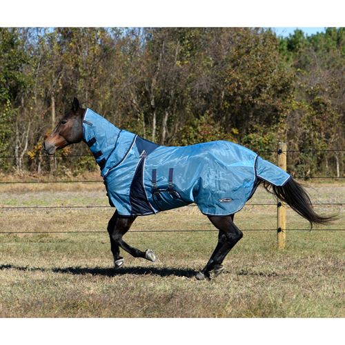 Lami-Cell Full-Cover Pro-Fit Fly Sheet with Fly Mask
