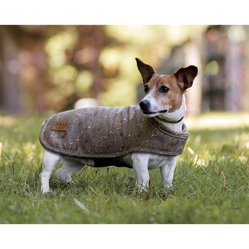 Dover Saddlery® Medium Bit-by-Bit™ Fleece Dog Coat