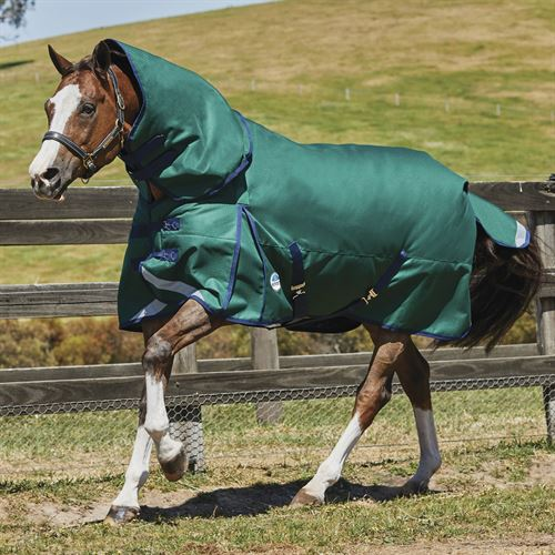 WeatherBeeta® ComFiTec™ Plus Dynamic Detach-A-Neck Heavyweight Turnout Blanket
