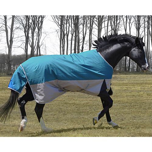 TuffRider® Major 1200D Ballistic Medium-Weight Standard Neck Two-Tone Turnout Blanket