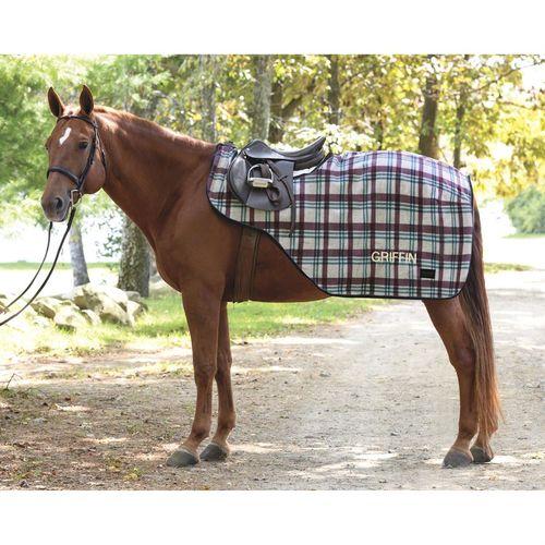 Dover Saddlery® Plaid Fleece Quarter Sheet