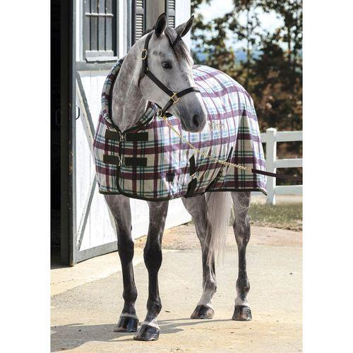 Dover Saddlery® PlaidCozy Neck Fleece Cooler