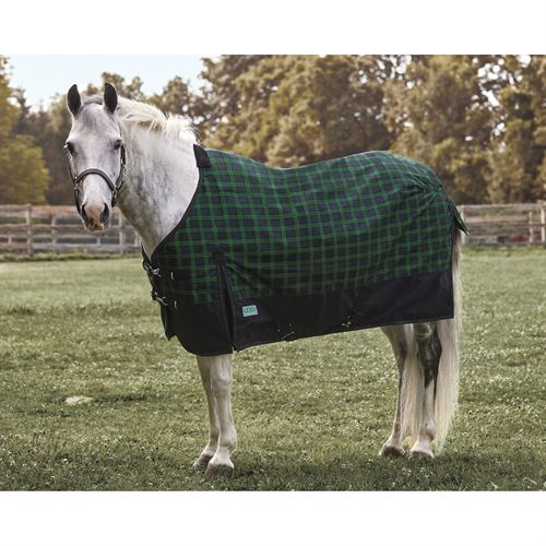 Rider's International by Dover Saddlery® Pony Foxdale Plaid Mid-Weight Turnout Blanket