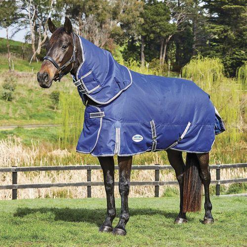 WeatherBeeta® ComFiTec™ Premier Free II Detach-A-Neck Medium-Weight Turnout Blanket