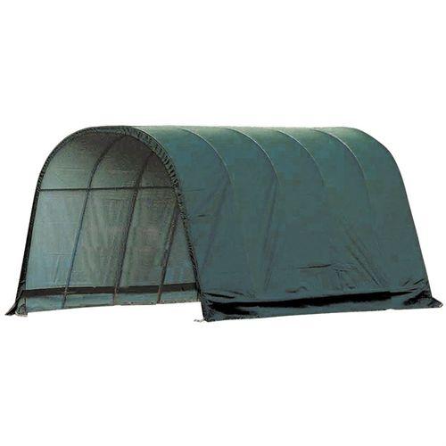 ShelterLogic® 13 x 20 x 10 Round Style Run-In Shelter