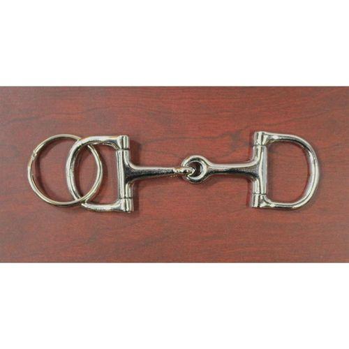 D-Ring Snaffle Bit Key Fob