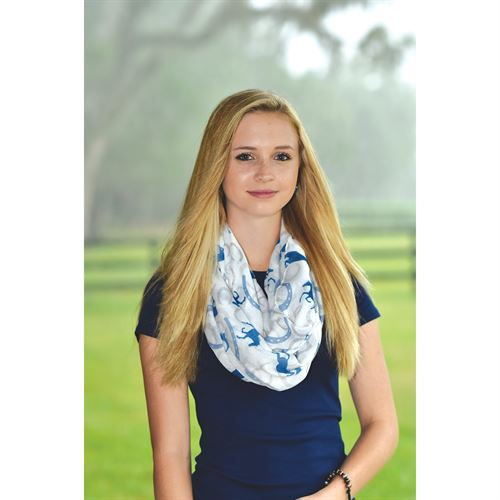 Kelley and Company Horse Infinity Scarf