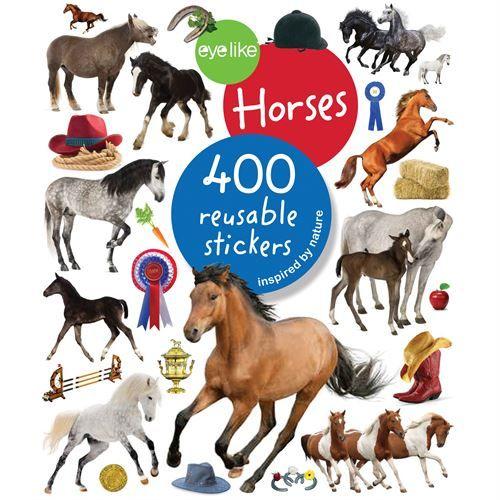 Kelley And Company Horses Sticker Book Dover Saddlery