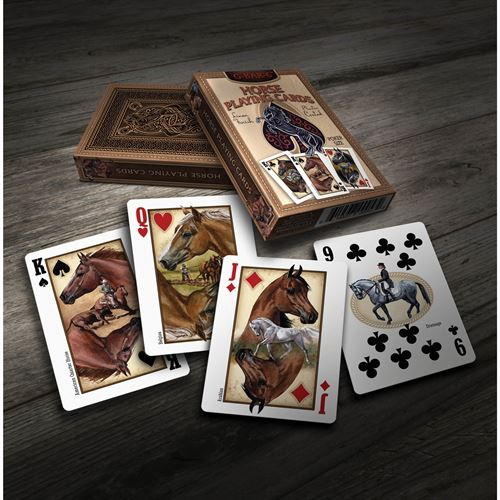 Kelley and Company Horse Playing Cards