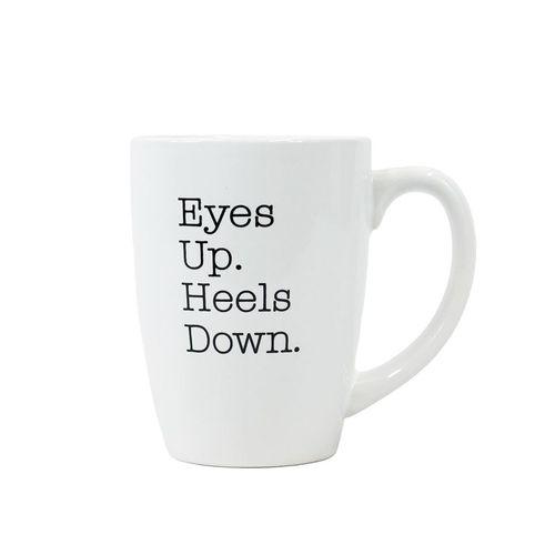 Bistro Style Novelty Horse Text Mug