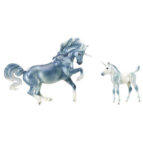 Breyer® Cascade & Caspian Unicorn Mare & Foal Set