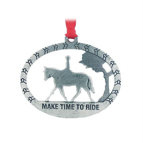 Make Time to Ride Ornament