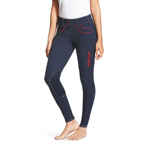 Ariat® Ladies Team Olympia Acclaim Low-Rise Knee-Patch Breech