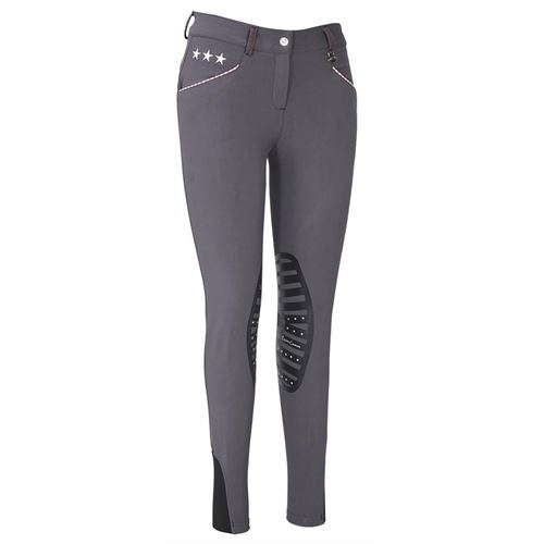 Equine Couture™ Ladies Stars & Stripes Knee-Patch Breech
