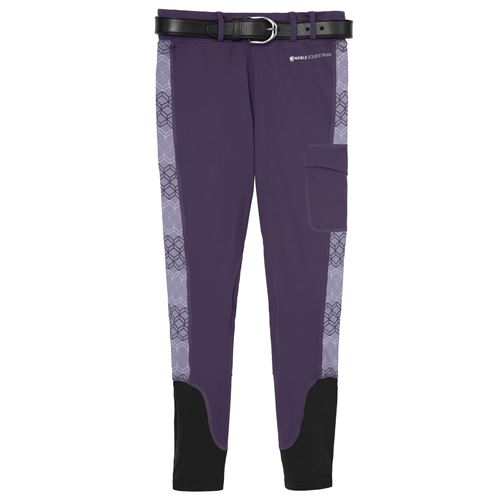 Noble Equestrian™ Ladies' Printed Balance Knee-Patch Tight