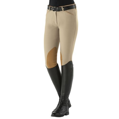 Dover Saddlery® Ladies Beverly Knee-Patch Breech