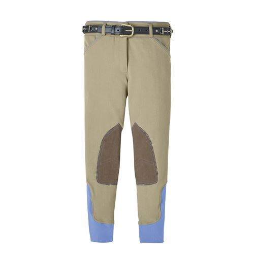 Dover Saddlery® Girls Wellesley Knee-Patch Breech