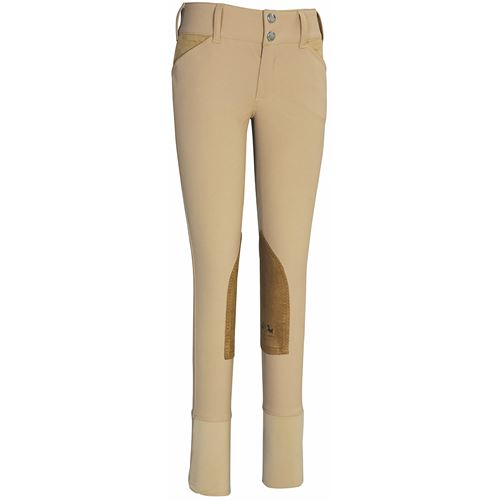 Equine Couture™ Childrens Coolmax® Champion Knee-Patch Breech