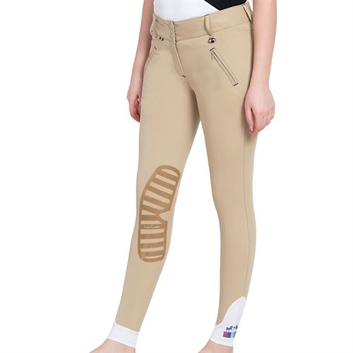 Equine Couture™ Ladies Beatta Silicone Knee-Patch Breech
